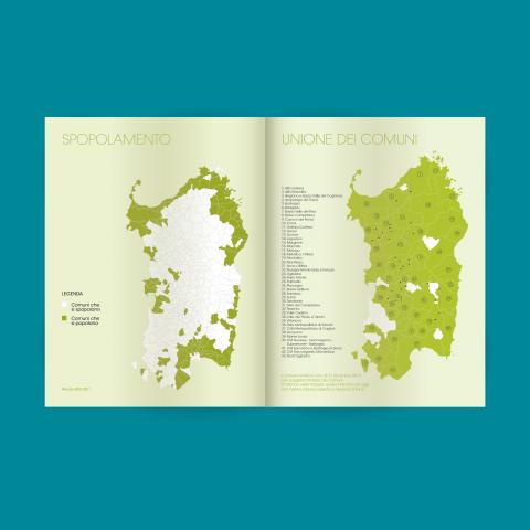 Spopolamento Sardegna infografica ELOE